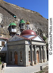 Cave monastery near Sevastopol - The cave monastery is based...