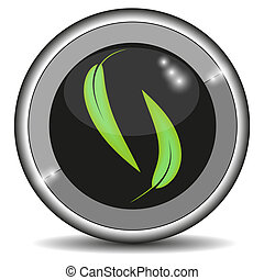 Vector ECO icon for your design