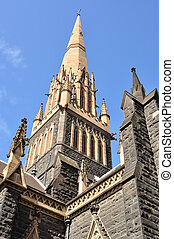 Catolic cathedral - Saint Patrick Cathedral in Melbourne,...