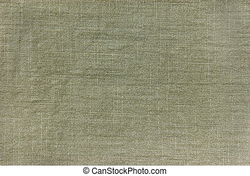 Dark Khaki Cotton Texture Closeup