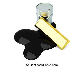Commodities - Gold and Oil, two commodities on the stock...