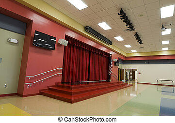 Stage at Elementary School