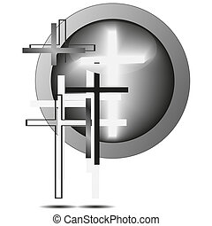 Vector cross for your design