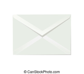 Letter envelope - White letter envelope illustration