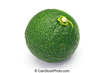 citron - I took citron in a white background