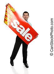 groß, Verkauf