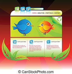 Eco portfolio website