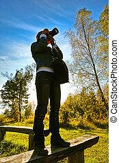 El fotografiar, naturaleza