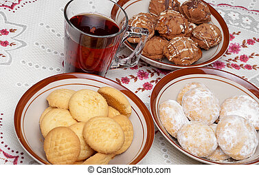 Traitional Eid El-Fitr Sweets - Traditional baked sweets...
