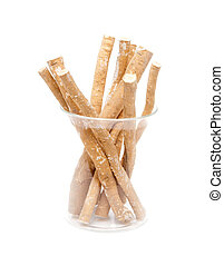Miswak Sticks - Miswak sticks in a glass