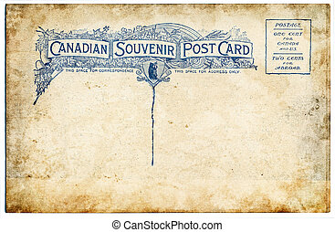 Old Canadian Postcard