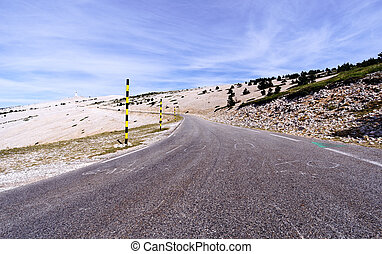 Ventoux - Mount Ventoux in France.