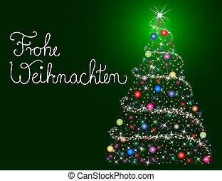ドイツ語, クリスマス, カード