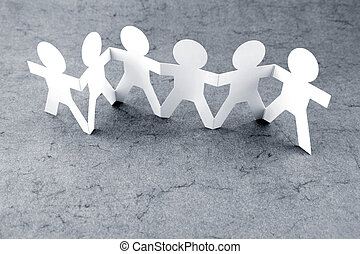 Team - Group of people holding hands