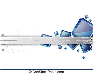 abstract blue-gray background