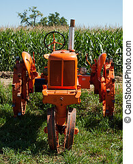 Farm Equipment - Old farm equipment on the display at the...
