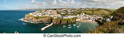 Overview of Port Isaac - Overview of the village of Port...