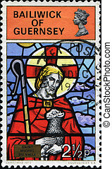 Stained-glass Windows from Guernsey Churches quot;The Good...