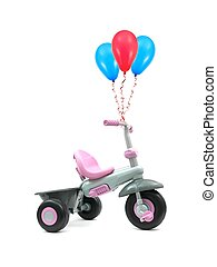Trike - A trike isolated against a white background