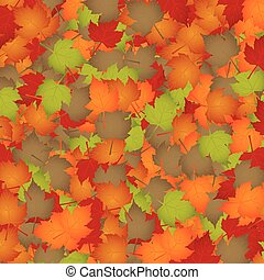 Seasonal background - Autumn leaves - seasonal background