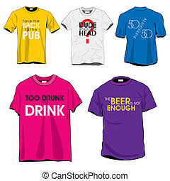 Fun T-shirts Set