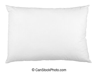 pillow bedding bed sleeping - close up of a pillow on white...
