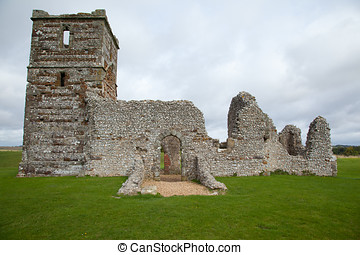 Knowlton Church - Photo of Knowlton Church on a site of...