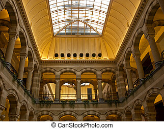 Magna Plaza, Amsterdam - Famous shopping mal in Amsterdam