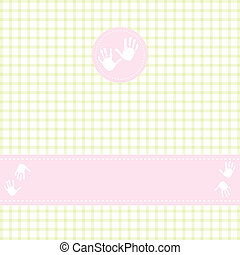 Template greeting card, vector il