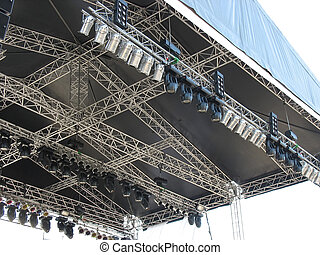 structures of stage illumination lights equipment and...