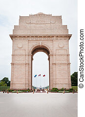 India Gate in New Dalhi - India Gate memorial in New Dalhi...