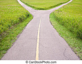 Fork in the road leads to decision