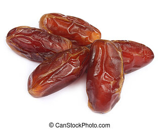 Dates over white background