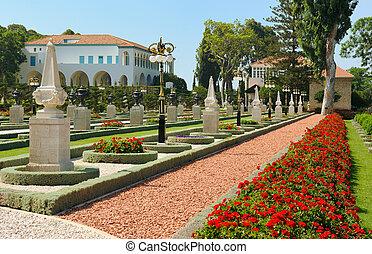Bahai Gardens near Acre