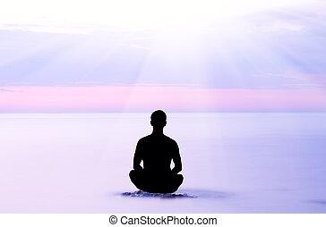 evening meditation.