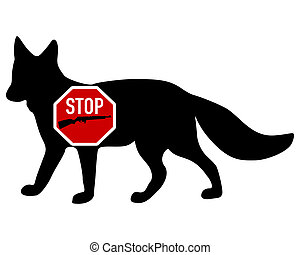 Stop shoot fox