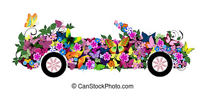 floral convertible