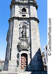 Clerigos church (Igreja dos Clerigos), Porto, Douro...