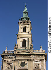 St Anne - Church of St Anne in Budapest, Hungary