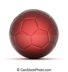 soccer ball - Picture a soccer ball on white background