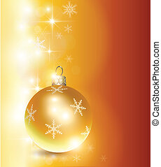 christmas background - Elegant christmas background gold,...