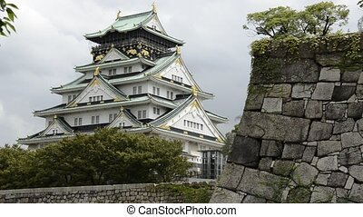 Osaka Castle - The Osaka castle, one of Japans most famous...
