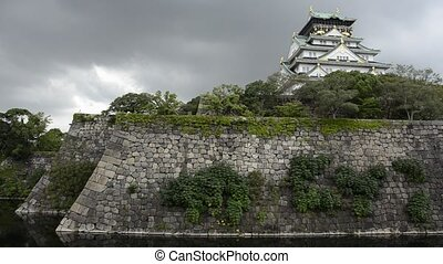Osaka Castle - The Osaka castle, one of Japan\'s most famous...