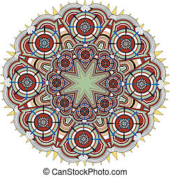 islamic pattern - a beautiful geometric islamic pattern