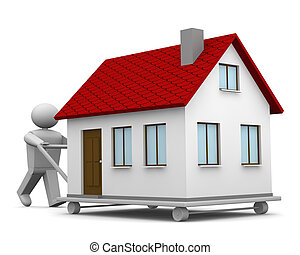 Carryng a house