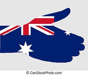 Australian handshake