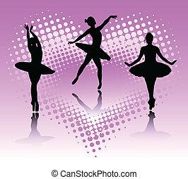 ballet, bailarines