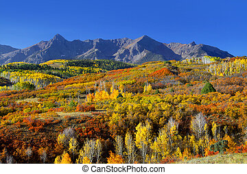 Dallas divide - Scenic landscape of Dallas divide in...