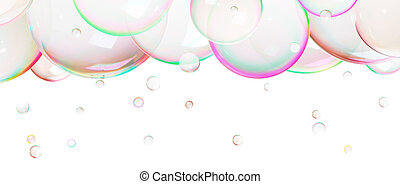 Natural  soap bubbles