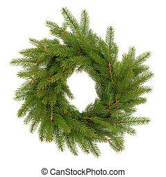 Spruce Fir Pine Wreath